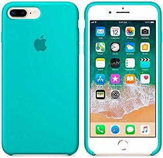 1a5874b140c Funda de Silicona Suave con Logo para Apple iPhone 7 Plus / 8 Plus Turquesa