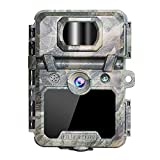 OUDMON Trail Game Camera 30MP 1080p 30fps FHD Waterproof IP67 Hunting Scouting Cam for Wildlife Monitoring with Night Vision Motion Activated No Glow IR LEDs 2.4' LCD