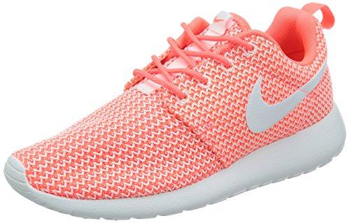 Nike Roshe Run, Zapatillas Deportivas Mujer, Arancione Hot Lava White, 40.5 EU