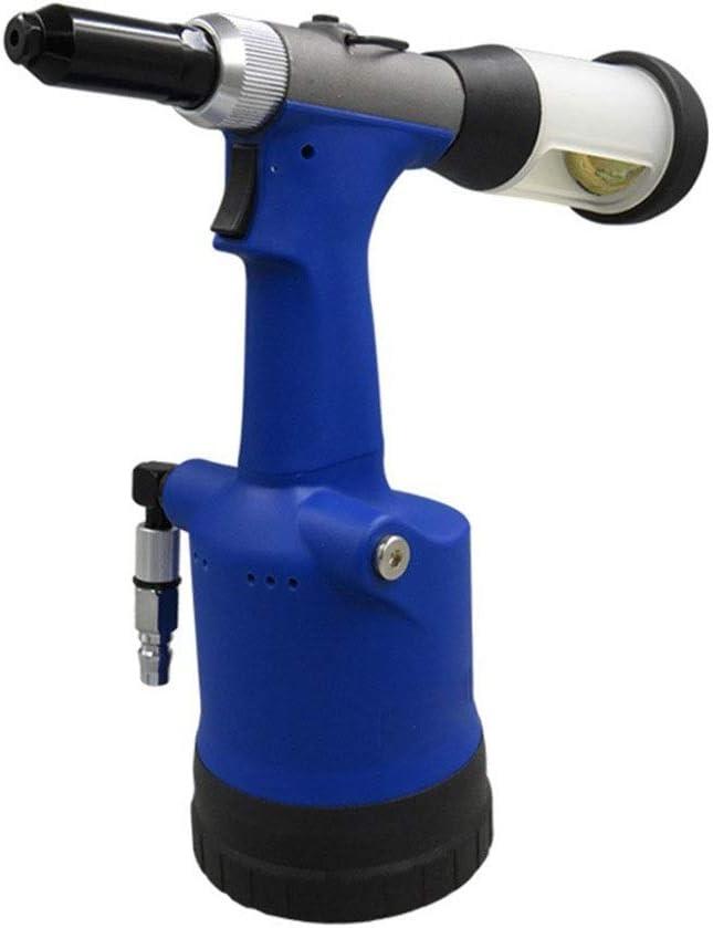 Herramientas neumáticas Autocebante neumático remache máquina, hidráulica industrial remachado dispositivo, portátil Core Tirando del remache del tirador,