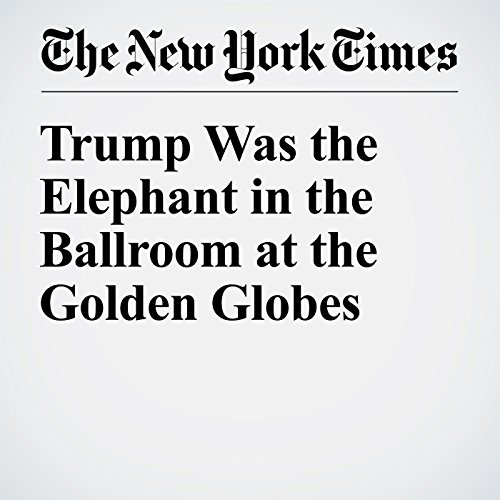 Trump Was the Elephant in the Ballroom at the Golden Globes copertina