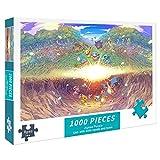 Charmander 1000 piezas rompecabezas Pokemon DIY 1000 piezas rompecabezas aliviar el aburrimiento juguetes regalo de cumpleaños para amigos - Anime 70x50cm
