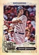 2017 Topps Gypsy Queen Baseball #282 Andrew Benintendi Rookie Card