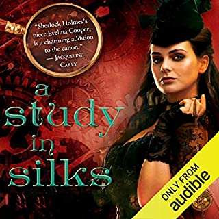 A Study in Silks audiobook cover art