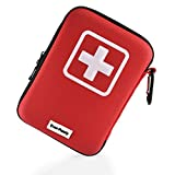 First Aid Kit (139 Pieces) - Ever-Ready Keeping You Safe in Hiking and Camping Emergencies - Fully Stocked Car and Home Medical Supplies - A Survival Kit You Can Trust Ever-Ready