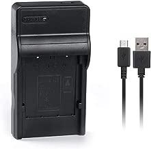 LI-40B LI-42B LI-40C Slim USB Battery Charger for Olympus FE-240, FE-280, FE-290, FE-300, FE-320, FE-340, FE-350, FE-4010, FE-5030, µ 1040, µ780, µ 790 SW, µ770 SW, u795 SW, u820 More Digital Cameras