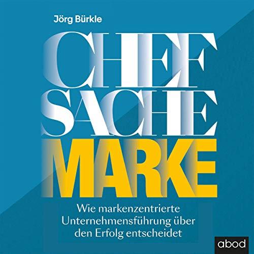 Chefsache Marke audiobook cover art