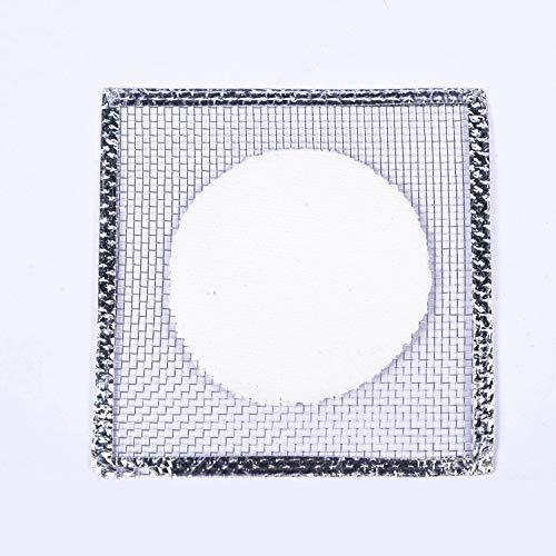 LSJTZ Chemisches Experiment Keramik hitzebeständiger Stahl Netz Becher zentrale Teile 10pcs,AsShown,150mm*150mm