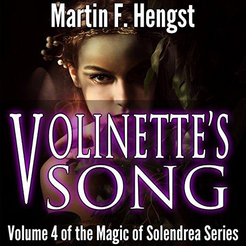 Volinette's Song: A Magic of Solendrea Novel audiobook cover art
