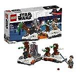 LEGO Star Wars - Duelo en la Base Starkiller, Juguete de Aventuras, Combate con los Personajes de La Guerra de las Galaxias, Incluye Minifiguras de Rey y Kylo Ren (75236)