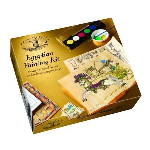 House of Crafts 18210520 Kit de Peinture égyptienne