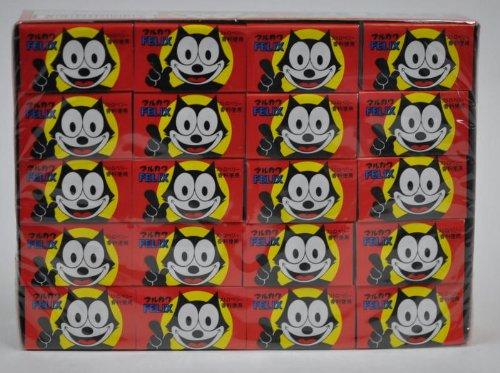 丸川製菓 マルカワ フーセンガム (フィリックス FELIX)  1箱は55コ+5コ(あたり分)
