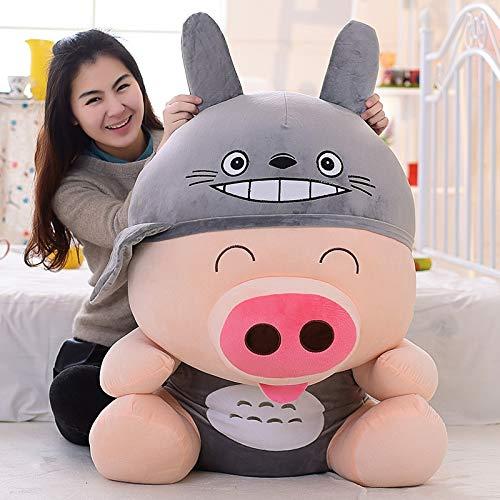 GSDJU Juguete de Peluche Gigante de Cerdo McDull Convertido en Oso de Conejo Panda Rana Pato Minions Batman Juguete de Peluche Regalo de niña
