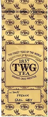 シンガポールの高級紅茶TWG 「French Earl Grey』フレンチ アールグレイ100g バルクバッグ) - [並行輸入品]