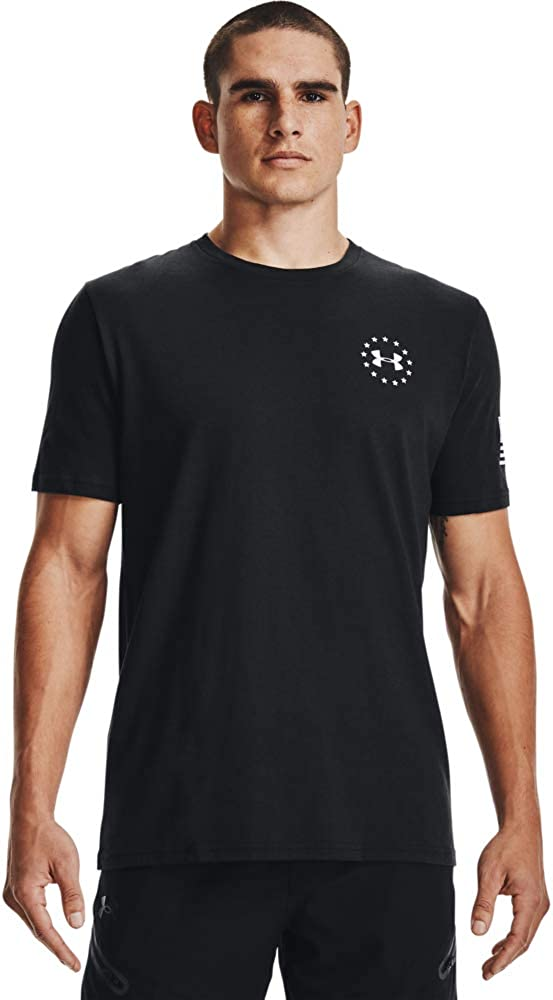Under Armour Men's Max 66% OFF Freedom Flag T-Shirt Camo Cheap super special price