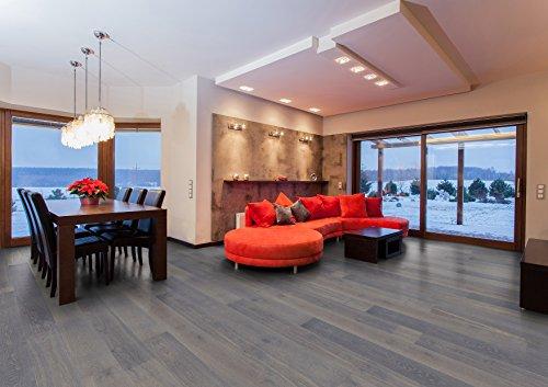 Hochwertiger Handgefertigter Parkettboden / Fertigparkett / Parkettboden Elegance - Eiche Landhausdiele geölt - gebürstet - Natur (Shanghai) - 89,90 € pro m²