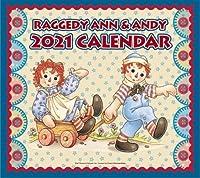 2021年 アンアンディ 壁掛けカレンダー ラガディ