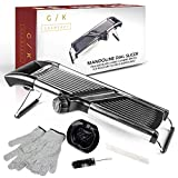 Best Mandoline Slicers - Gramercy Kitchen Co. Adjustable Stainless Steel Mandoline Food Review