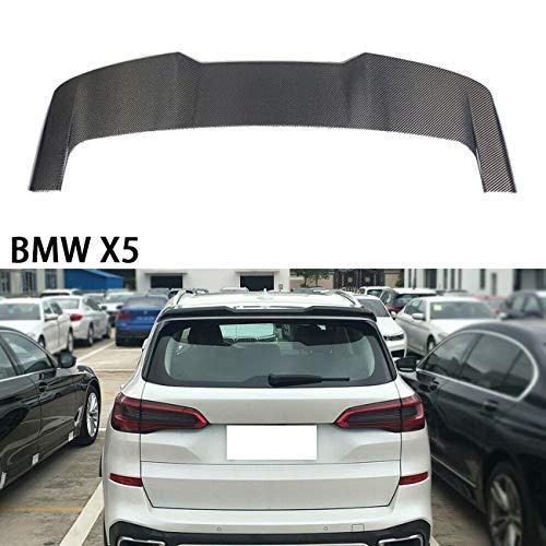 QCWY Spoiler per Baule Auto Adatto per BMW X5 Coda alettone del Baule Posteriore Stile 2019 2020 Nero Fibra di Carbonio CF