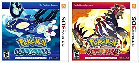 Pokemon Omega Ruby and Pokemon Alpha Sapphire Dual Pack - Nintendo 3DS Edition: DualPack Model: