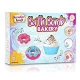 KreativeKraft Bath Bombs For Kids, Creative Bath Bomb Making Kit with Supplies and Mould, Craft Sets For...