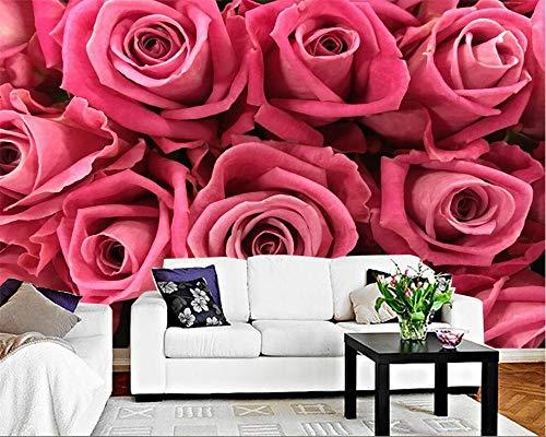 Nomte Aangepaste Behang Bloem Tuin Idyllische Rose Muur Tv Achtergrond Muur Woonkamer Slaapkamer Slaapbank Achtergrond 3D Behang 150x105cm