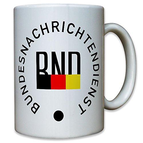 BND Bundesnachrichtendienst deutscher Geheimdienst Spion Logo - Kaffee #10524 T