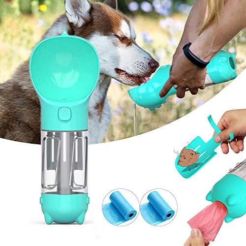 Devsolution - Botella de agua para perro para caminar (10 onzas), diseño de perro
