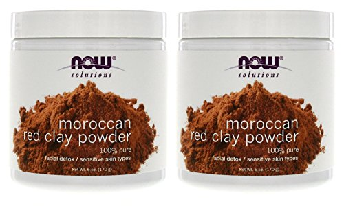 NOW Foods Red Clay Powder Moroccan - 6 oz.