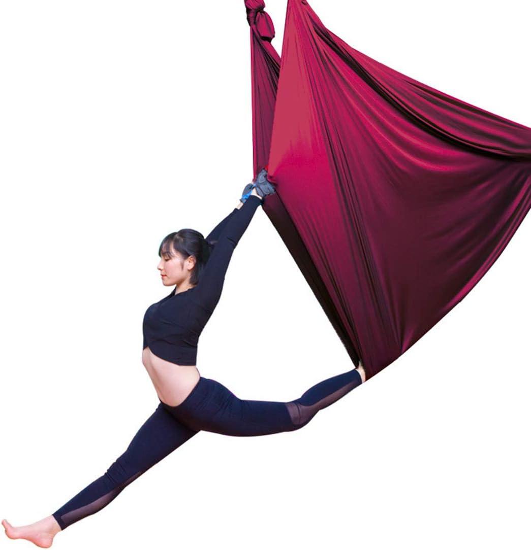LWKBE Aerial Silks Equipment Premium Stretch Silk Acrobatic for Memphis Baltimore Mall Mall
