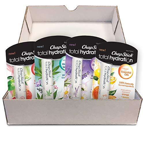 Chapstick Total Hydration, 100% Natural Essential Oils Set -...