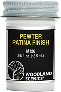 Woodland Scenics HO Pewter Patina Finish WOOM126