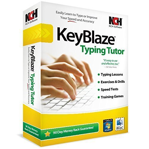 inventory softwares KeyBlaze Typing Tutor Software (PC)