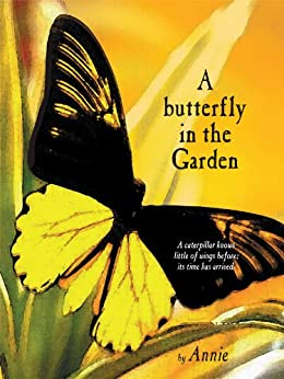 A butterfly in the Garden by [Annie]