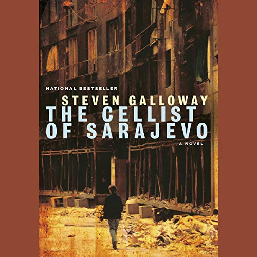 The Cellist of Sarajevo cover art