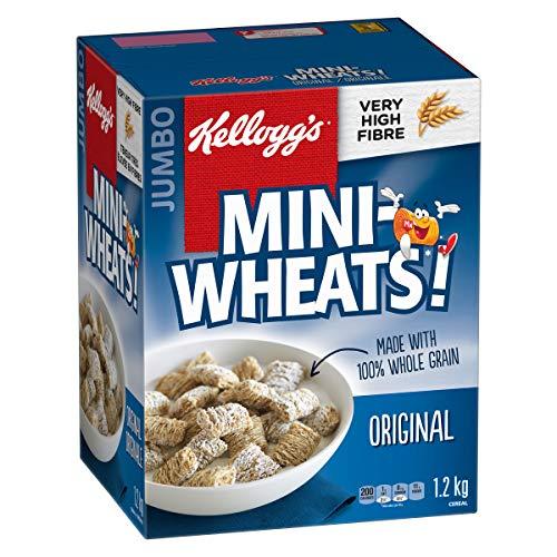 Kellogg's Mini-Wheats Cereal, 1.2kg (Jumbo Size), Original
