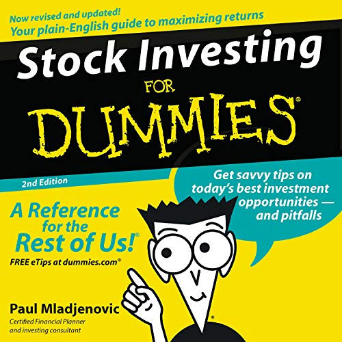 Stock Investing for Dummies, 2nd Edition Titelbild