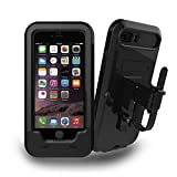 iPhone 7/8 Plus Soporte para Bicicleta, JEMACHE Bicicleta/Moto de Soporte Impermeable Funda para iPhone 7/8 Plus