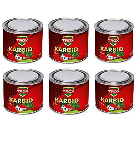 Sanimix24 Calciumcarbid 3,0 Kg Karbid als Granulat - Feste Steine - 10-30 mm Körnung - lange Wirkung und hohe Gasentwicklung