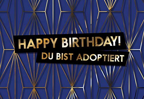 Freche Geburtstagskarte