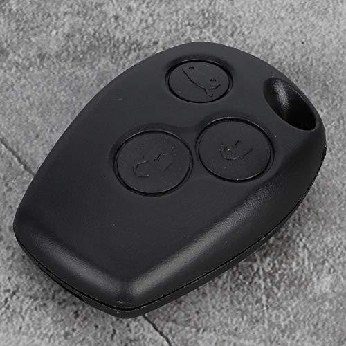 Funda para llavero, ABS con 3 botones sin llave, entrada sin llave con ABS (negro)