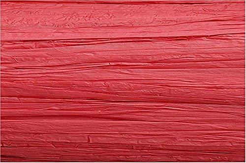 KnorrPrandell 8533015 Edelbast Viscose, 30 m, matt rot