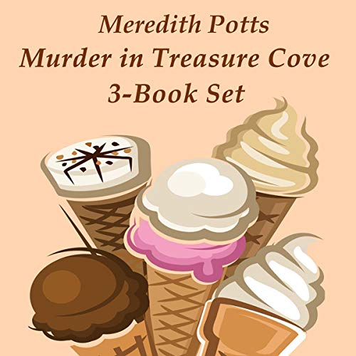 Murder in Treasure Cove 3-Book Set cover art