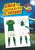 Crea tu jugador de fútbol: Libro especial para colorear el fútbol: personaliza la camiseta de tu jugador de fútbol, crea el logo de su club y ... Cuaderno grande A4, 62 páginas, tapa dura.
