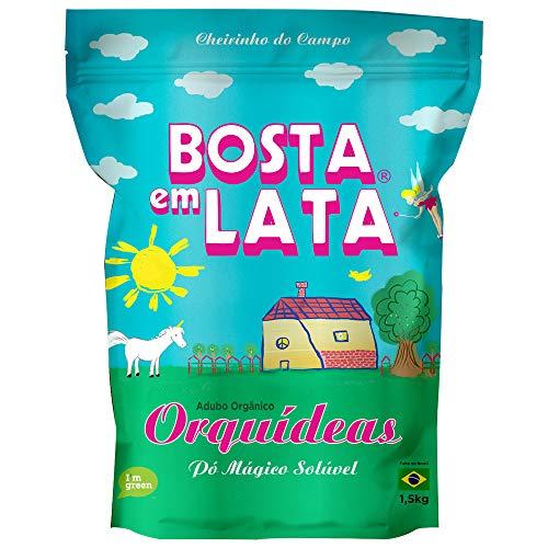 Fertilizante Orgânico Bosta em Lata Orquídeas Zip - 1.5 kg