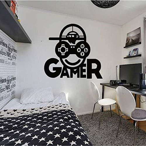 También hay pegatinas de juegos de carga de juegos creativos para pegatinas de arte de pared de vinilo de dormitorio