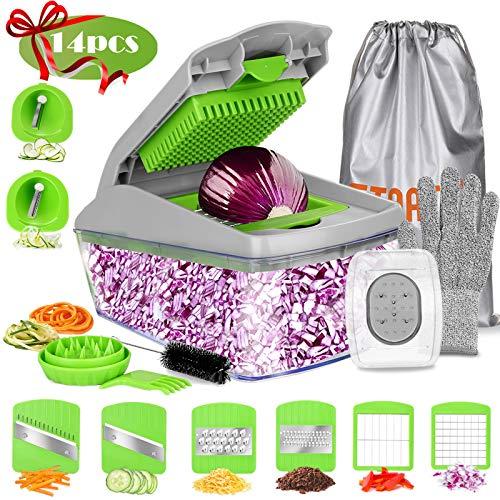 14 in 1 Vegetable & Food Chopper Slicer Dicer