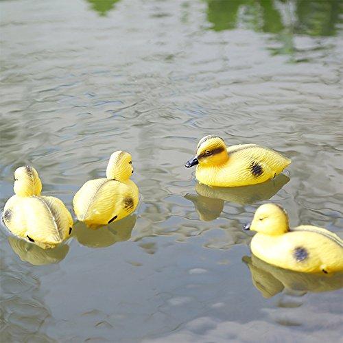 Schwimmender Entenschreck, schwimmend, Enten-Abschreckung, Jagd, Schießen, Teich, Pool-Dekoration, schwimmender Vogel
