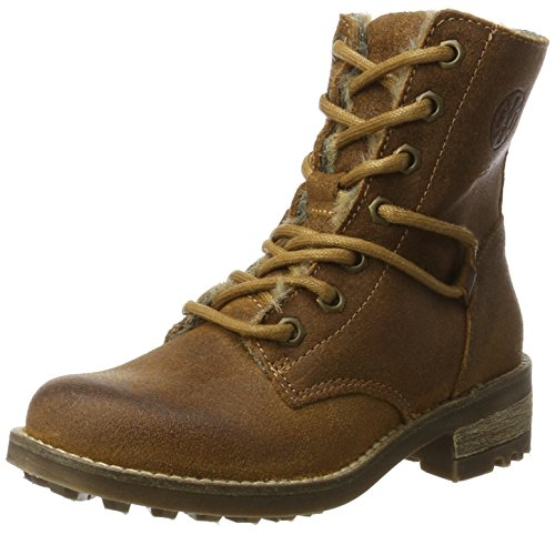 BULLBOXER Mädchen AHT503E6C Chelsea Boots, Braun (Cognac), 33 EU