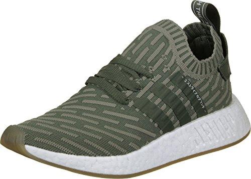 adidas NMD_R2 PK W, Zapatillas de Deporte para Mujer, (Stmajo/Stmajo/Rosimp), 38 EU